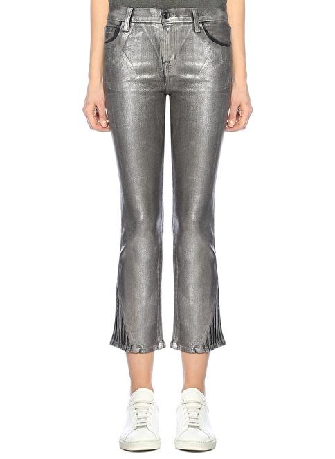 J Brand Yüksek Bel Bol Paça Pantolon Gri